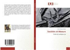 Couverture de Sociétés et Moeurs
