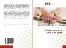Couverture de Poids des normes & normes de poids