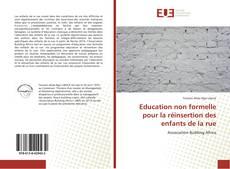 Capa do livro de Education non formelle pour la réinsertion des enfants de la rue