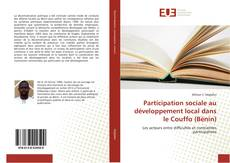 Capa do livro de Participation sociale au développement local dans le Couffo (Bénin)