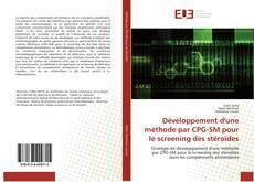 Portada del libro de Développement d'une méthode par CPG-SM pour le screening des stéroïdes