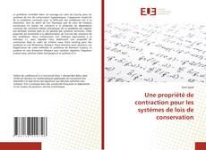 Couverture de Une propriété de contraction pour les systèmes de lois de conservation