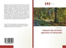 Copertina di Impacts des Activités Agricoles et Pastorales
