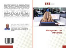 Bookcover of Management des entreprises