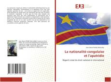 Bookcover of La nationalité congolaise et l'apatridie