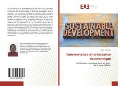 Couverture de Gouvernance et croissance économique