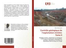 Portada del libro de Contrôle géologique de l'exploitation minière: Tome II