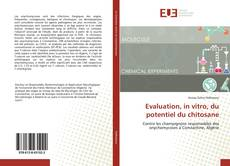 Capa do livro de Evaluation, in vitro, du potentiel du chitosane