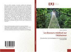 Buchcover von Le discours médical sur l'Alzheimer