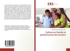 Couverture de Culture en famille et performances des écoliers