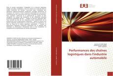 Performances des chaînes logistiques dans l'industrie automobile kitap kapağı