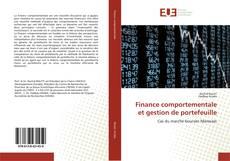Copertina di Finance comportementale et gestion de portefeuille