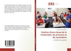 Bookcover of Gestion d'une classe de la maternelle, du primaire et du secondaire