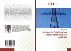 Bookcover of Analyse de fiabilité d'un réseau électrique sur MATLAB