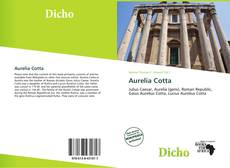 Buchcover von Aurelia Cotta