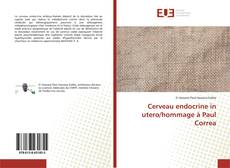 Bookcover of Cerveau endocrine in utero/hommage à Paul Correa