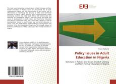 Policy Issues in Adult Education in Nigeria的封面
