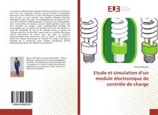 Couverture de Etude et simulation d'un module électronique de contrôle de charge