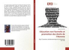Capa do livro de Education non formelle et promotion des droits de l'Homme