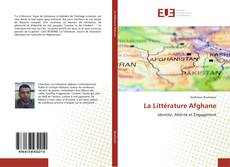 Обложка La Littérature Afghane