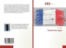 Capa do livro de French for ages