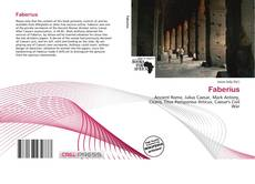 Bookcover of Faberius