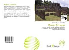 Buchcover von Marcus Favonius