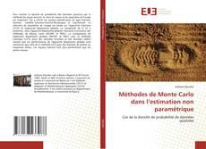 Couverture de Méthodes de Monte Carlo dans l'estimation non paramétrique
