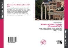Manius Acilius Glabrio (Consul 67 BC) kitap kapağı