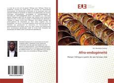 Обложка Afro-endogéneité