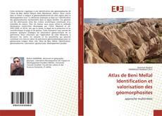 Atlas de Beni Mellal Identification et valorisation des géomorphosites kitap kapağı