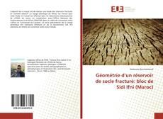 Bookcover of Géométrie d'un réservoir de socle fracturé: bloc de Sidi Ifni (Maroc)