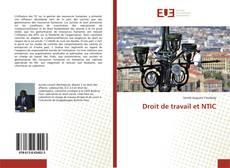 Copertina di Droit de travail et NTIC