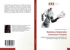 Portada del libro de Relations bilatérales Cameroun-Turquie