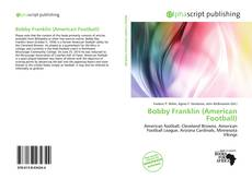 Bookcover of Bobby Franklin (American Football)