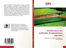 Couverture de Amélioration des méthodes d'exploitations agricoles