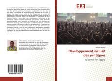 Couverture de Développement inclusif des politiques
