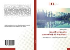 Identification des paramètres de matériaux的封面