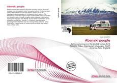 Bookcover of Abenaki people