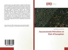 Copertina di Souveraineté Pétrolière et État d'Exception