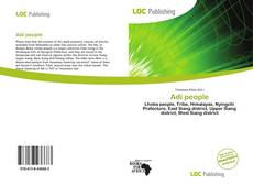 Bookcover of Adi people