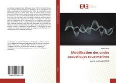 Обложка Modélisation des ondes acoustiques sous-marines