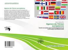 Couverture de Agence de l'Union européenne