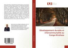Bookcover of Développement durable et intercommunalité au Congo-Kinshasa