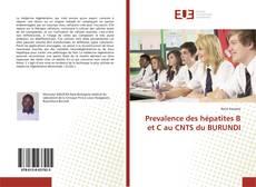 Bookcover of Prevalence des hépatites B et C au CNTS du BURUNDI