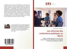 Portada del libro de Les réformes des institutions publiques au Bénin
