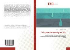 Обложка Cristaux Phononiques 1D: