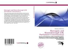 Capa do livro de Harrogate and Knaresborough (UK Parliament Constituency)
