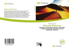 Bookcover of Albanian American