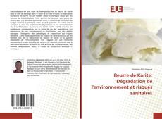 Beurre de Karite: Dégradation de l'environnement et risques sanitaires的封面